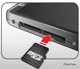 Insert microSD Memory Card Slot Motorola RAZR M