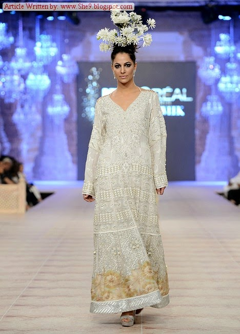 Shamaeel Bridal Collection PFDC BW 2014 Day2