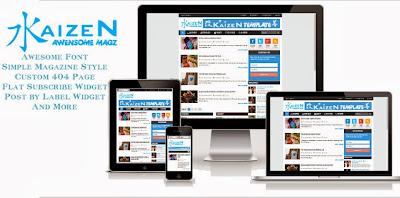 Kaizen Free Blogger Template