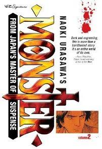 Cover of Monster Vol 2 (Naoki Urasawa)