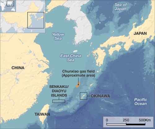 China - Jepang Pulau Sengketa Diaoyu / Senkaku