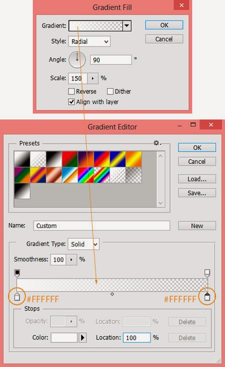 Belajar Edit Foto Efek Membuat Pusat Cahaya dengan Gradient Photoshop CS6