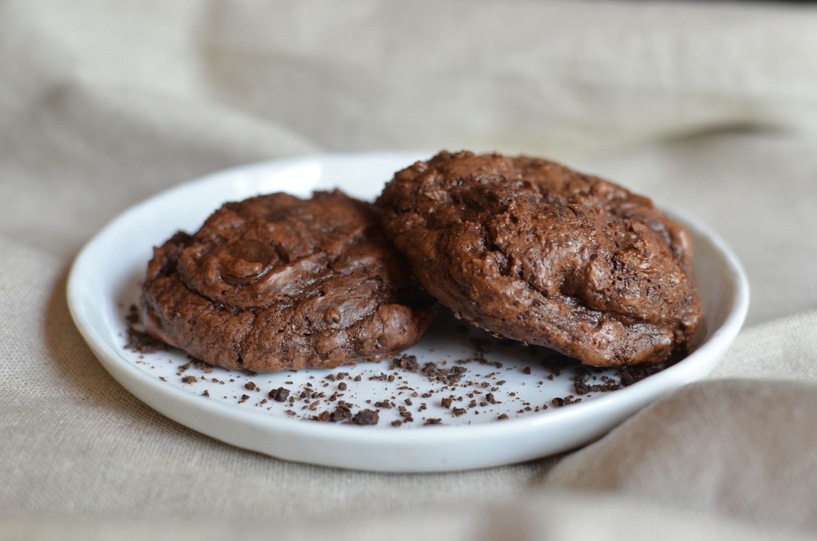Playing with Flour: Double-chocolate espresso bean cookies