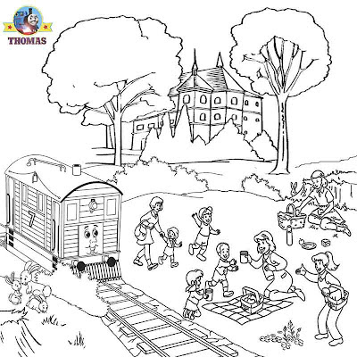 Activities Toby the tram engine Thomas and friends coloring pages to print railroad picture archives