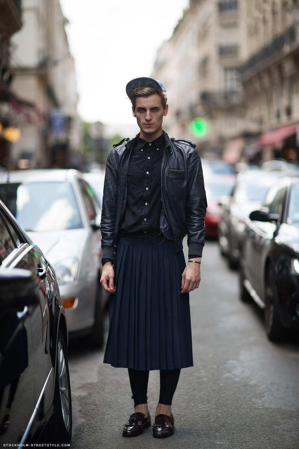 Men in skirts fashion