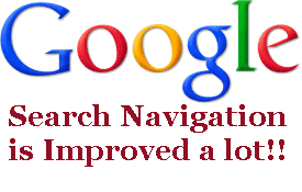 Whats new in Google | Google search navigation is improved