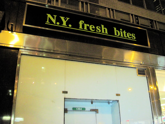 N.Y. Fresh Bites just wasn't meant to be around as an Old New York establishment.