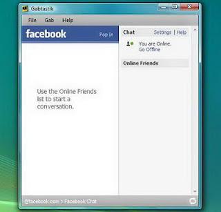 Akses Facebook Chat di Facebook