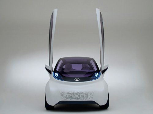Tata Pixel, a cool city car concept Photos