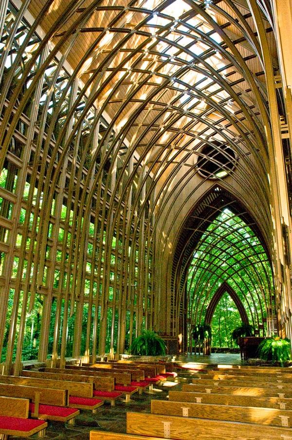 Mildred b cooper memorial chapel in bella vista arkansas - Frank lloyd wright architecture organique ...