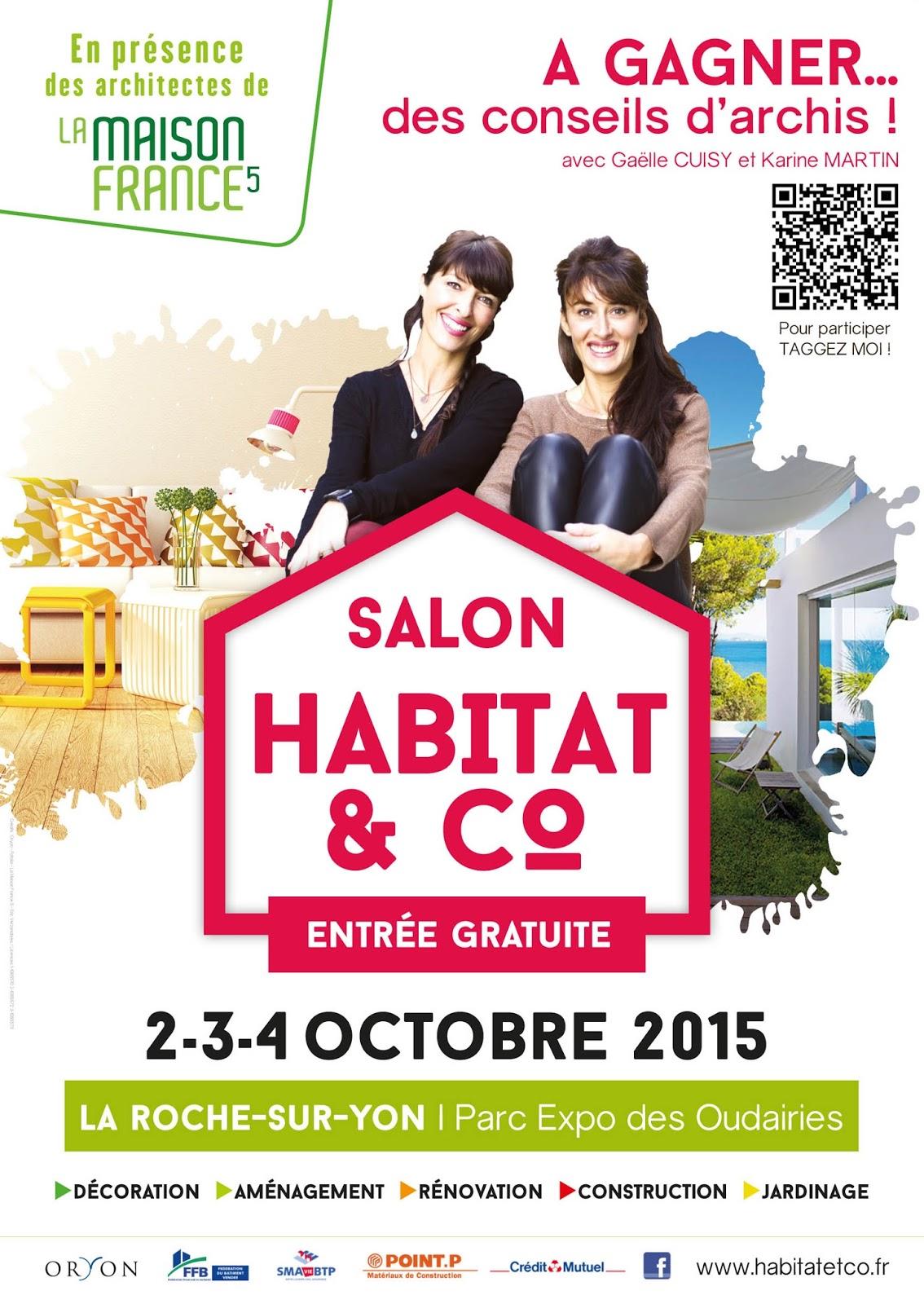 Maison satov salon habitat co la roche sur yon - Entree gratuite salon agriculture 2015 ...