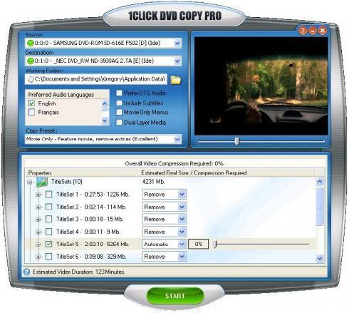 1CLICK DVD Copy 5.9.9.6 / Pro 4.3.2.9