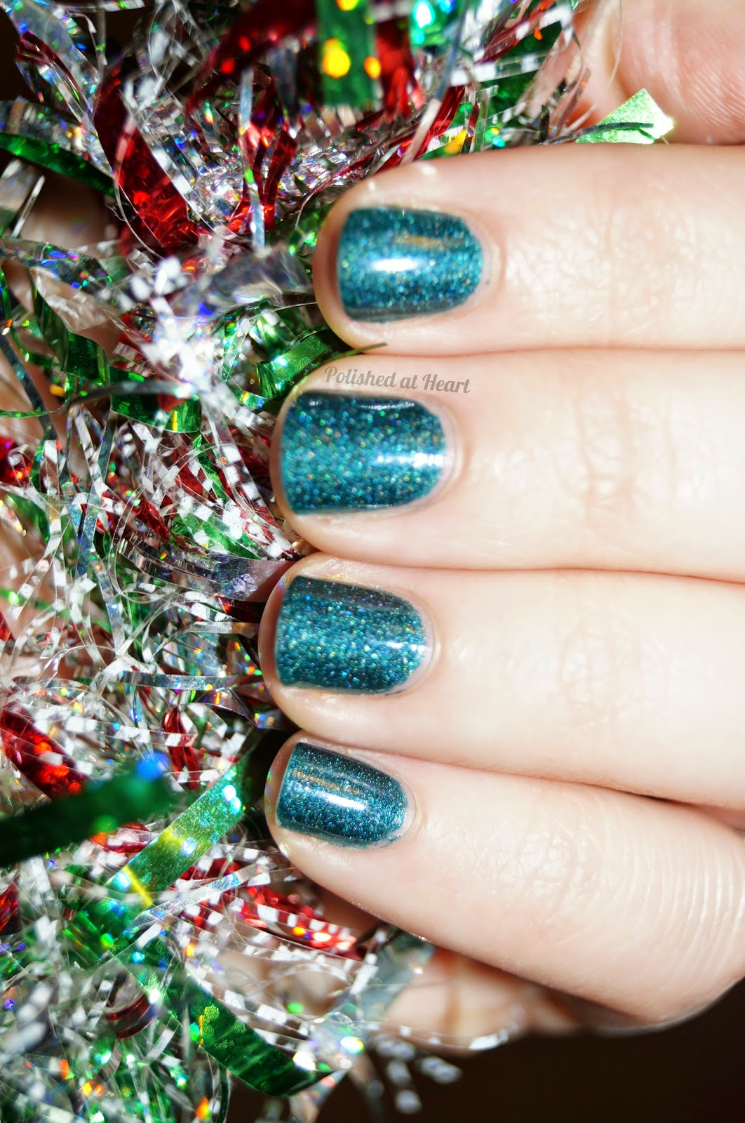 Christmas Nial Polish