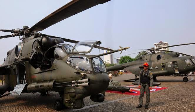 Mulai hari ini, TNI AD Pamerkan Peralatan Tempur di Monas