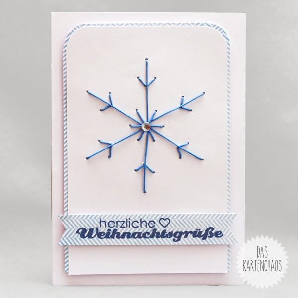 Das kartenchaos noch mehr weihnachtskarten for Weihnachtskarten pinterest