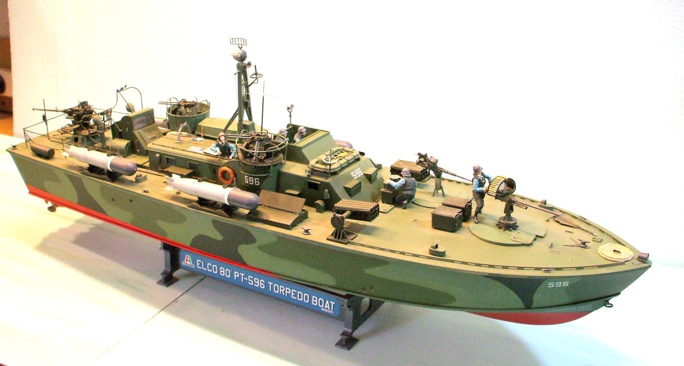 Model Building: Elco PT Boat