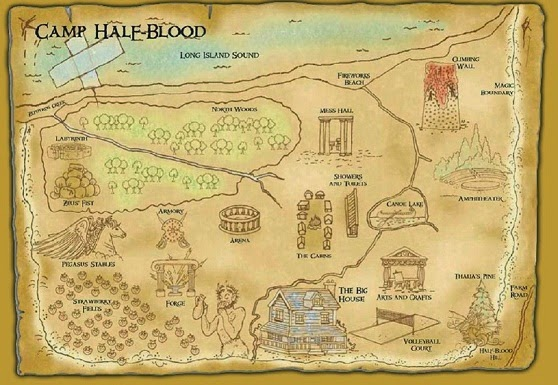 livros online mapa do acampamentomeiosangue