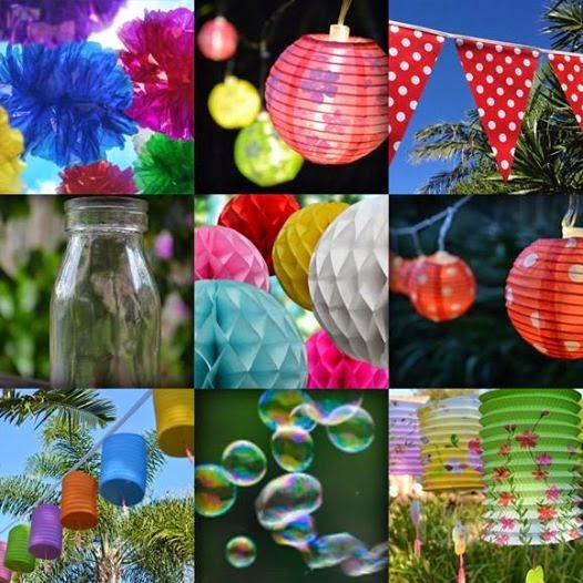 Lanternshop Spring Garden Party Decorations