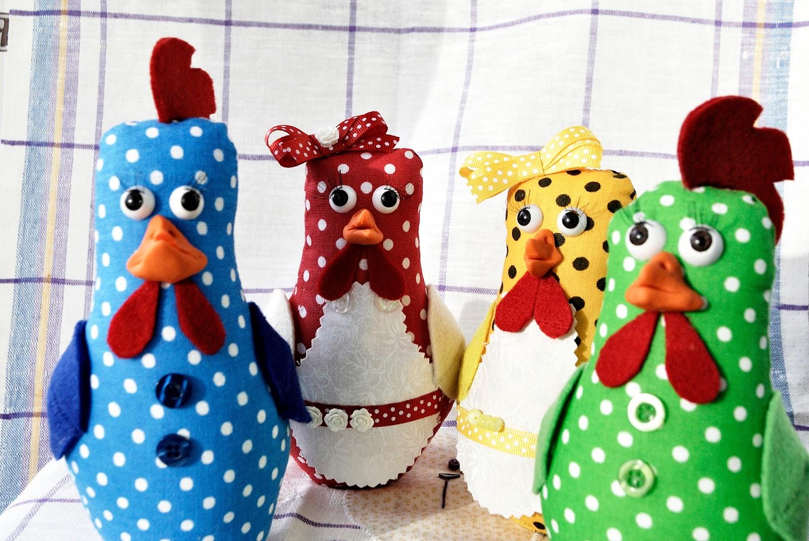 курицы, Пасха, игрушка, горошек