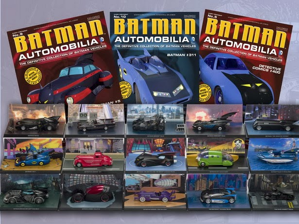 Coleccionable coches de Batman