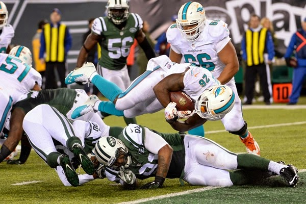 FÚTBOL AMERICANO (NFL 2014/2015) - Semana 13: Reshad Jones dio la victoria a Miami en Nueva Jersey
