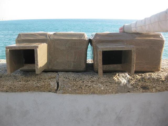 Fabrica un refugio para los pobres gatos de la calle - Casa gatos exterior ...