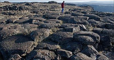 Columnar Basalt, Ice Age Floods.