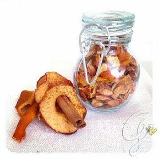 Infuso energizzante arancia, mela e cannella