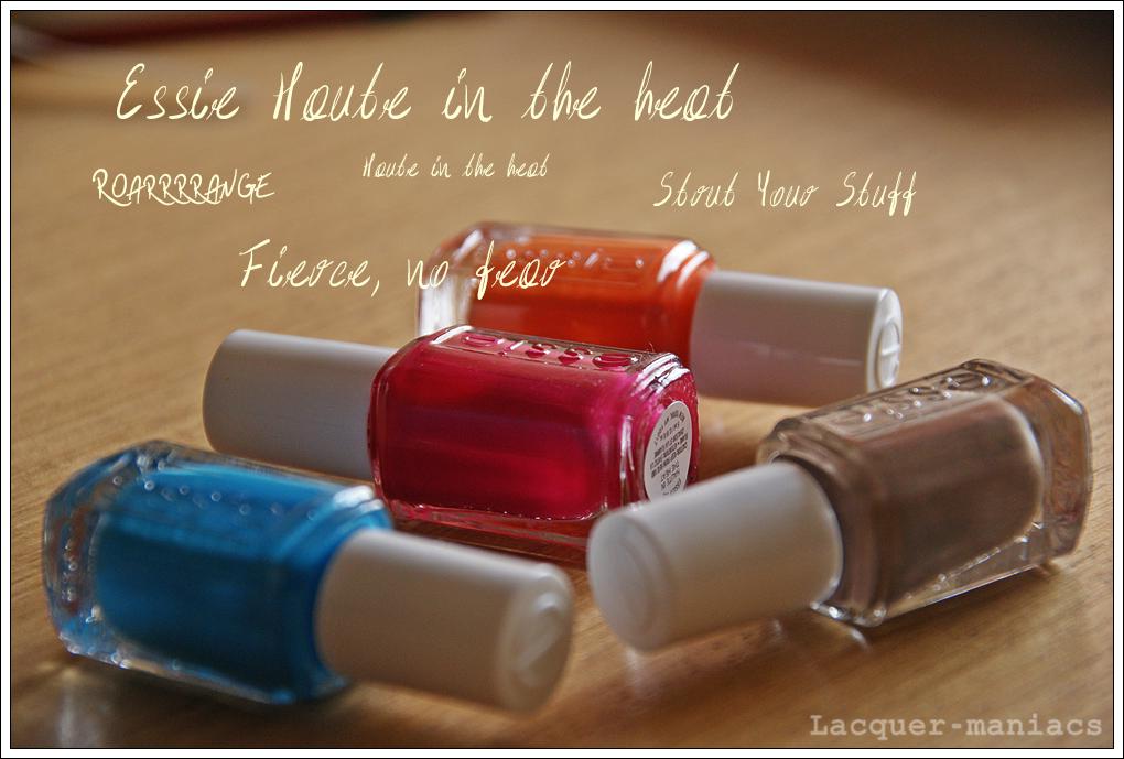 Essie kolekcja Haute in the heat, lato 2014