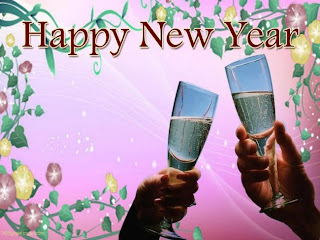 Happy New Year wishes greeting cards