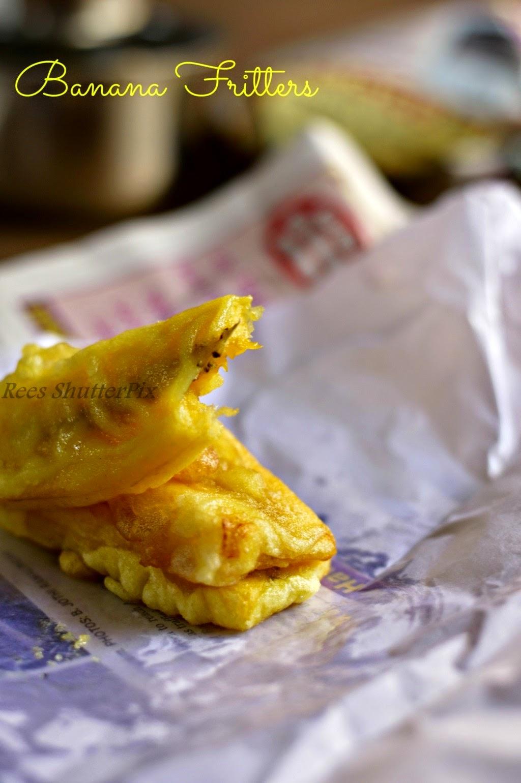 pazham pori, ekkatha appam, banana fritters, nendram pazham bajji, recipe