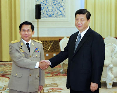 >China, Burma to enhance military ties