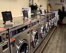 mesin cuci laundry koin