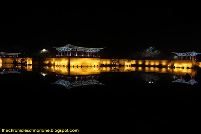 Anapji Pond night