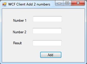Design WFC client