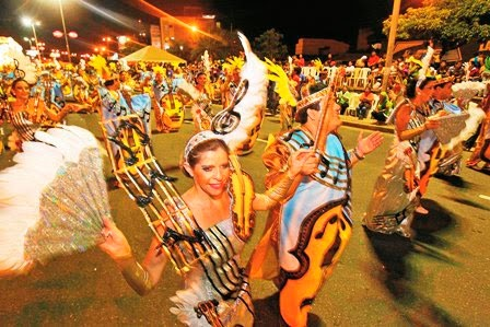 Carnaval Cruceño 'For export'