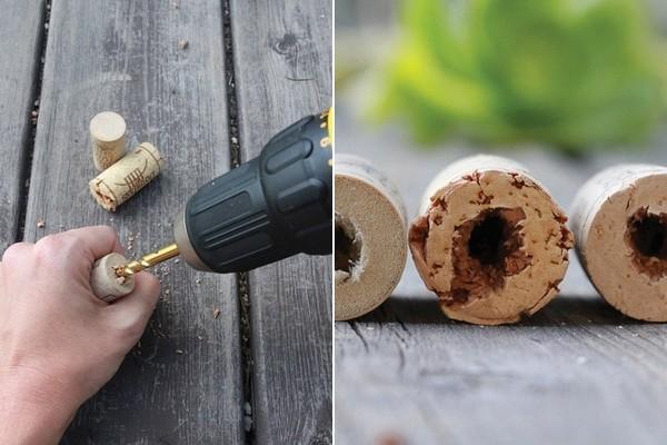 Sukkulenten in Kork - ein schnelles Geschenk zum Selbermachen