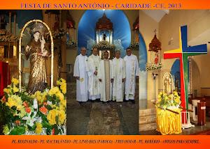 FESTA DE SANTO ANTÔNIO - 2013 - CARIDADE - CE.