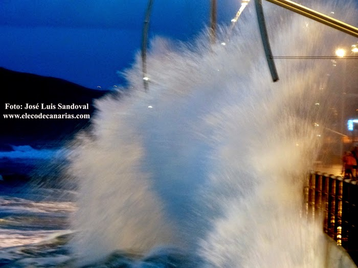 Fotos fuerte oleaje 28 noviembre, Las Palmas de Gran Canaria
