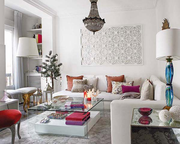 Jws interiors white walls you decide neutral or pops of for Neutral decor with pops of color