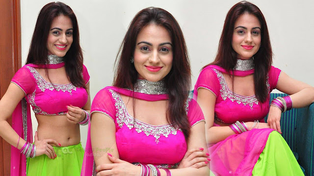 Aksha Latest Stills At Crescent Cricket Cup 2015 Curtain Raiser Event