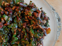 beetroot leaves fry