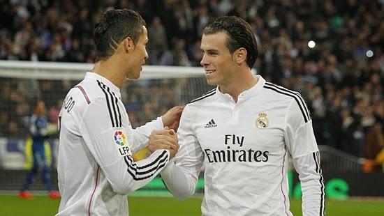 Bale Mengakui Cristiano Ronaldo Inspirasi