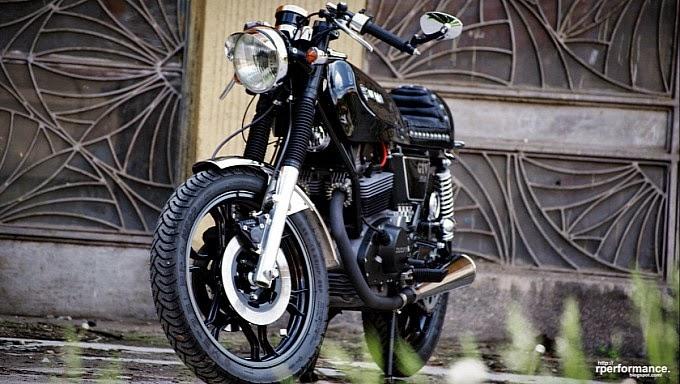 Foto Modifikasi Motor Klasik Ducati 350 GTV Keren