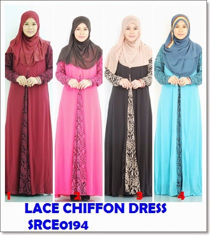 Dress Chiffon Lace