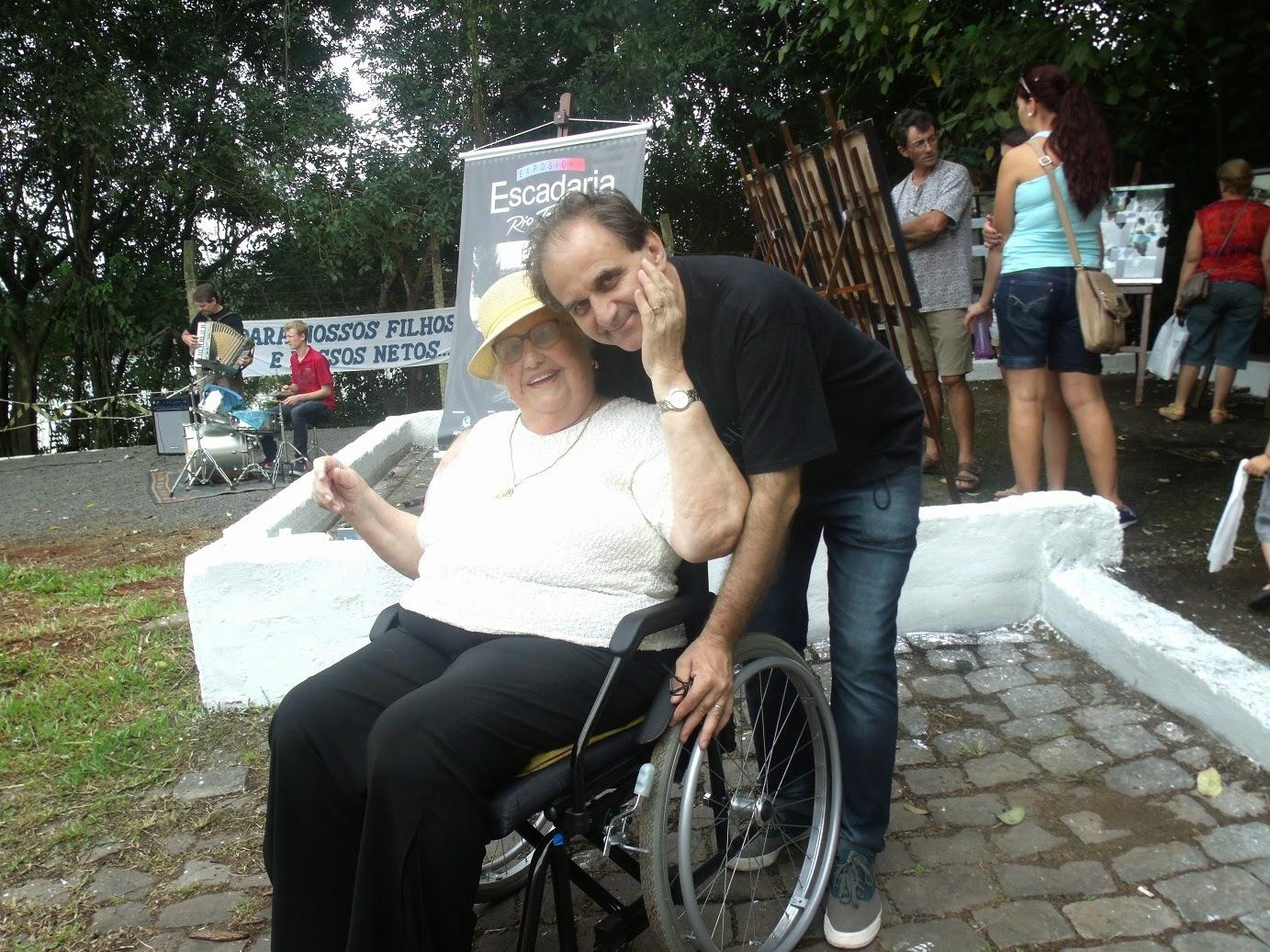 Airton Engster dos Santos e Dona Maria Dresch