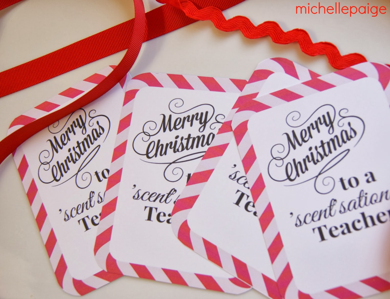 michelle paige: Quick Teacher Soap Gift for Christmas