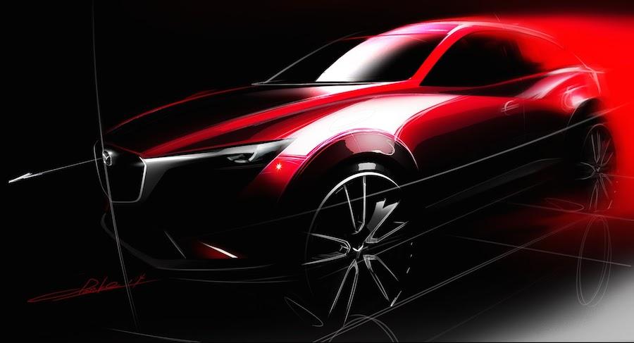 新型SUV「マツダCX-3」を世界初公開へ!「アテンザ」と「CX-5」もマイナーチェンジ