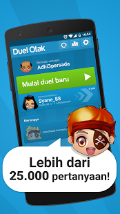 Screenshots of the Duel Otak for Android tablet, phone.