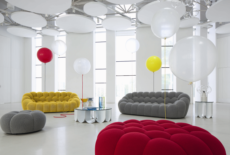 MY MAGICAL ATTIC: ROCHE - BOBOIS BUBBLE SOFA DESIGN BY SACHA LAKIC